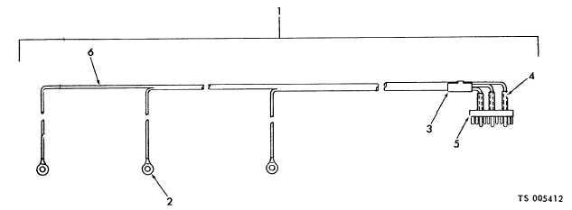 figure 12 fluorescent light wiring harness assembly. Black Bedroom Furniture Sets. Home Design Ideas