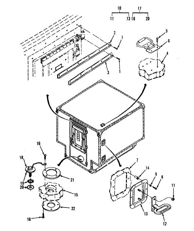 figure 1  shelter  electrical equipment s g  sheet 1 of 4