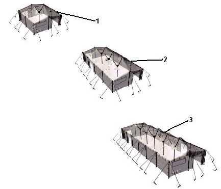 TM 10-8340-240-12u0026P GROUP 00 Modular General Purpose Tent System (MGPTS) 0022 00 REPAIR PARTS LIST 0022 00-1/(2 Blank) Change 1 Figure 1.  sc 1 st  Integrated Publishing & Figure 1. Modular General Purpose Tent System (MGPTS) Small ...